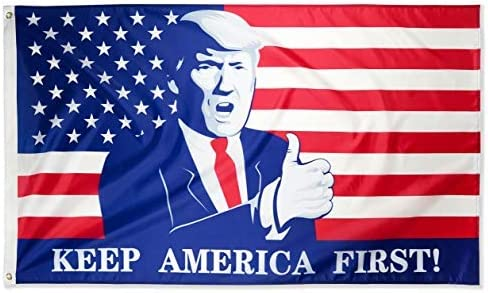 DFLIVE Industry No. 1 Donald Trump for President Finally popular brand 2024 Flag First Keep America 3
