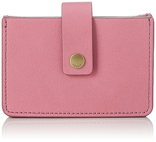 Fossil Damen Taschengeldbörse Geldbörse, Pink (Pink), 1.91x6.68x10.16 cm
