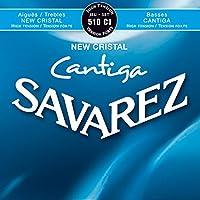 SAVAREZ NEW CRISTAL Cantiga 510CJ クラシックギター弦(セット) 【国内正規品】