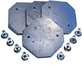 ULTRA HEAVY DUTY replacement pads for Forward, Gemini and Eagle auto lifts - set of 4