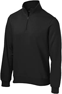 Men's Athletic 1/4-Zip Sweatshirt in Sizes XS-4XL