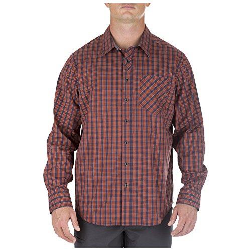 5.11Herren Covert Flex Long Sleeve Shirt, Herren, Fireball, XX-Large