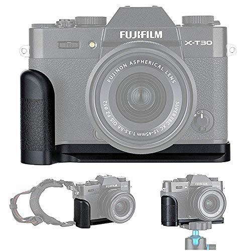 Empuñadura Metal Grip para Fujifilm Fuji X-T30 X-T20 X-T10 reemplaza Fujifilm...