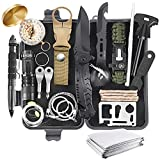Survival Kit 28 in 1, Gifts for Men Dad Husband Teenage Boy, Survival Gear and Equipment Supplies Kits Christmas Stocking Stuffers for Families Outdoors Camping Hiking Adventures
