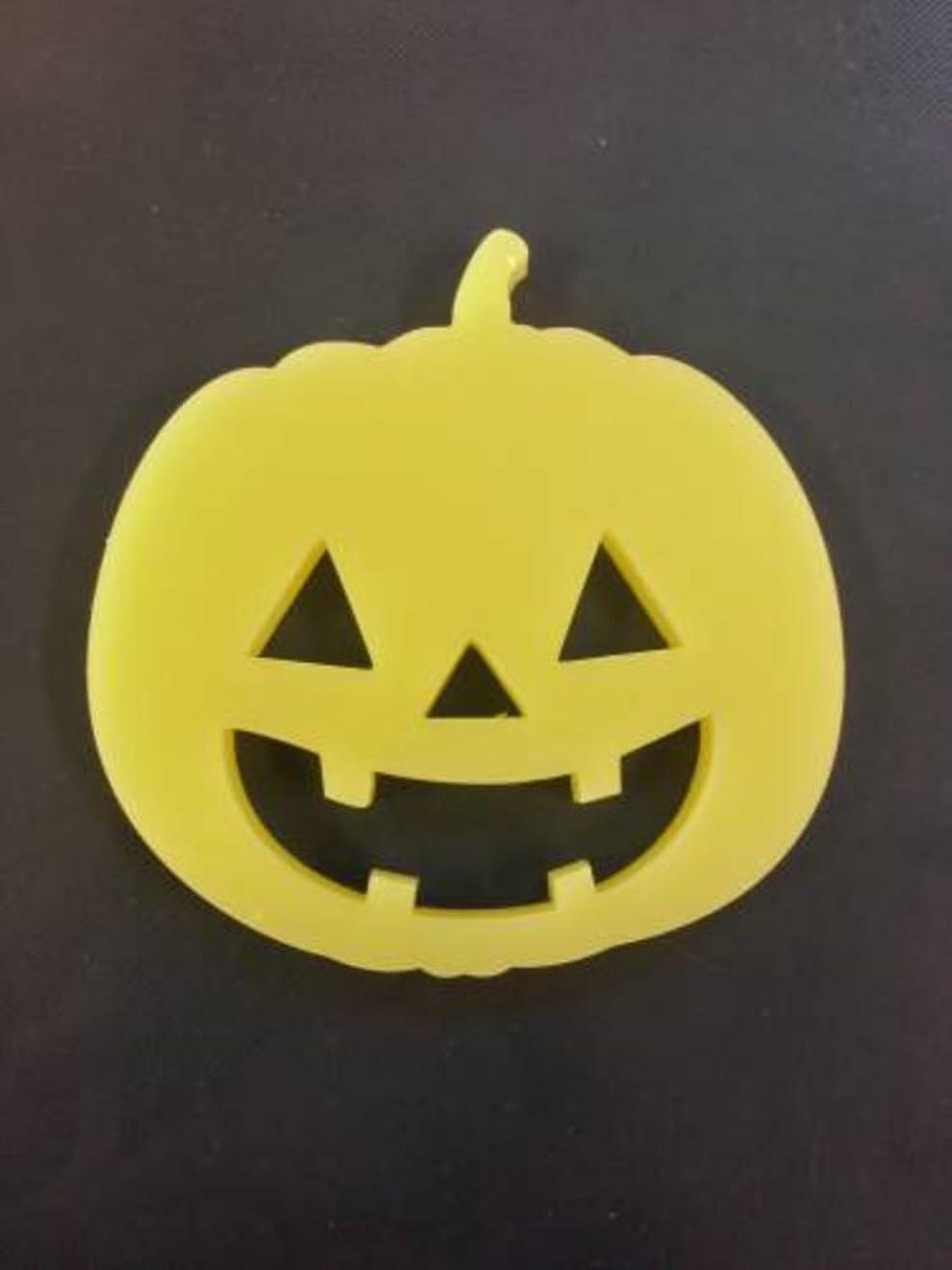 調整シェルターデッキGRASSE TOKYO AROMATICWAXチャーム「ハロウィンかぼちゃ」(YE) ベルガモット アロマティックワックス グラーストウキョウ