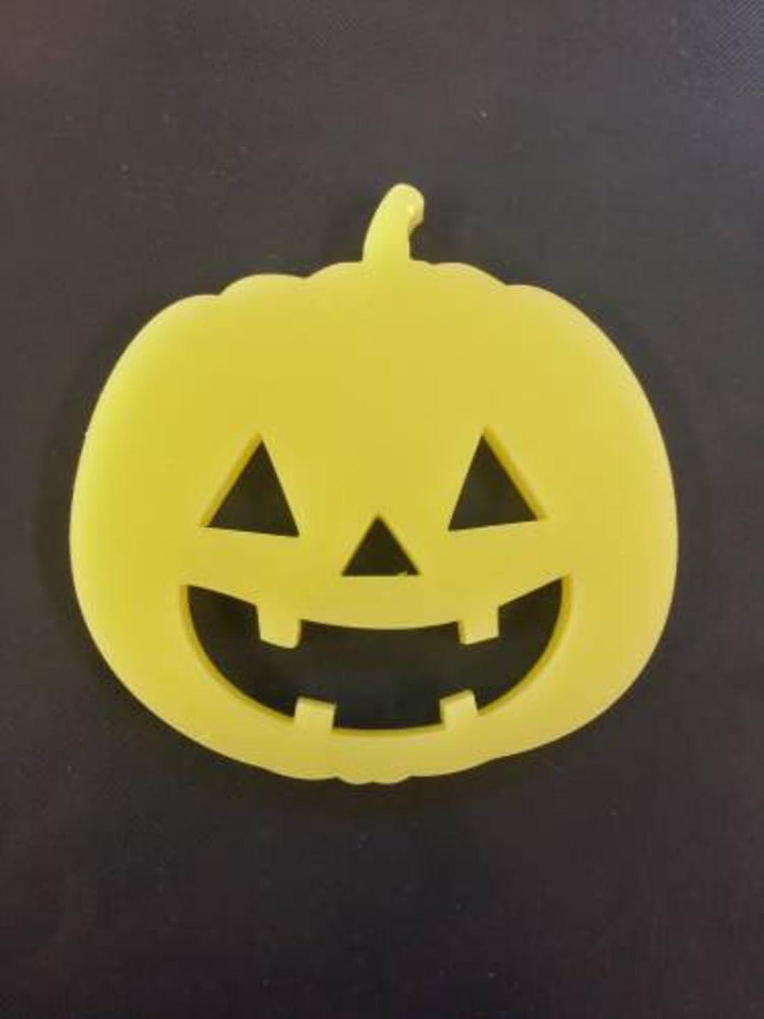 栄養福祉落とし穴GRASSE TOKYO AROMATICWAXチャーム「ハロウィンかぼちゃ」(YE) ベルガモット アロマティックワックス グラーストウキョウ