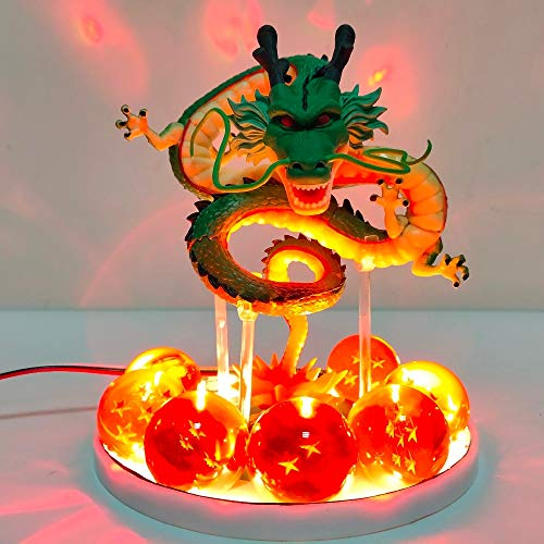 CBSTD Dragon Ball Z Shenron LED Kristallkugeln Action-Figuren Spielzeug Anime Dragon Ball Super Shenlong Led Figur Esferas Del Dragon DBZ