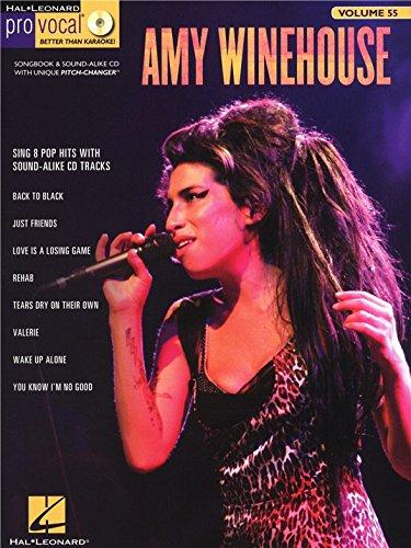 Pro Vocal Women\'s Edition Volume 55: Amy Winehouse. Partitions, CD pour Ligne De Mélodie, Paroles et Accords