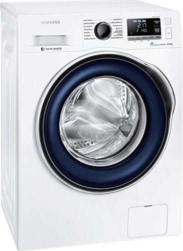 Samsung WW80J6400CW/EG Waschmaschine / A+++ / Frontlader / 1400 UpM 8 kg / SchaumAktiv / Trommelreinigung