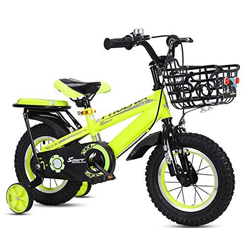 YumEIGE kinderfiets Freestyle jongens en meisjes fiets met steunwielen kinderfiets voor 12 14 16 18 inch voor kinderen fietsen geschikt voor kinderen maat 33 inch - 59 inch kind