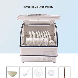 RAPLANC Lavavajillas automáticas de Escritorio en casa Mini Mini 6 Juegos de máquina lavavajillas Inteligente