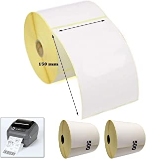 color blanco 4 piezas Zebra Z-Select 2000T 69.85 x 31.75 mm Etiquetas de impresora transferencia t/érmica