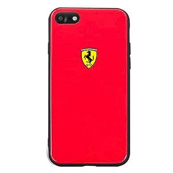 Ferrari Scuderia On Track Hard Case For Iphone Se 2020 Amazon In Electronics