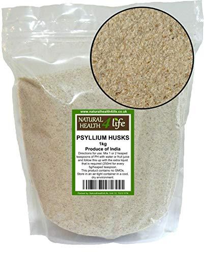 Psyllium Husks 1 kg by Natural Health 4 Life