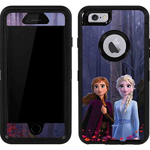 Skinit Decal Skin Compatible with OtterBox Defender iPhone 6 - Officially Licensed Disney Anna and Elsa Design