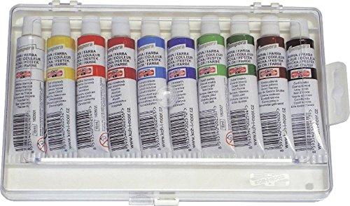 Koh-I-Noor 016250300000 Lot de Tempera Peinture Couleur (lot de 10)