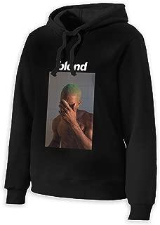 Blond Frank Ocean Womens Girls Long Sleeve Hoodie No Pocket Sweatshirts Half Dome Pullover Hoodie