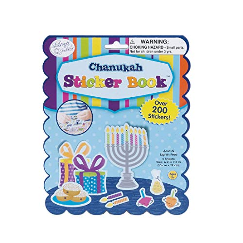 Rite Lite Chanukah Sticker Book - Hanukkah - Over 200 stickers