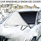 Antstorm Car Windshield Snow Cover,Windshield Ice&Frost Covers,Car Wiper Visor Frost Guard...