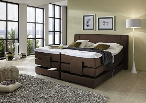 Brisbane Plus incl. motor boxspring hotelbed Amerikaans bed designbed - (140x200)