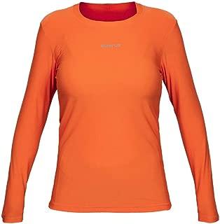 Camiseta Active Fresh Ml - Feminino Curtlo G Laranja