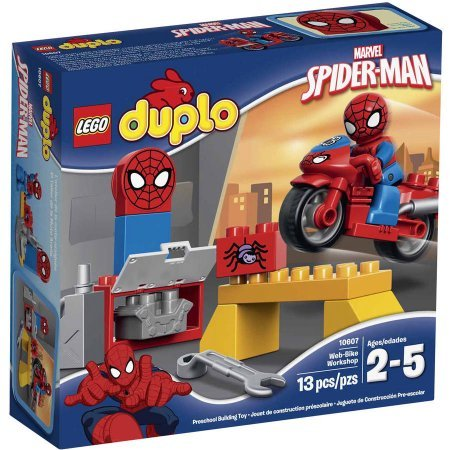 LEGO Duplo Marvel Spider-Man Web-Bike Workshop 10607 WLM