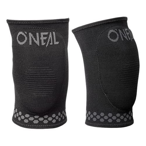 O\'NEAL | Knieprotektor | Motocross Enduro | Flyknit Webstoff für ultimativen Komfort, IPX® Funktionsschaum, Belüftung an der Kniekehle | Superfly Knee Guard | Erwachsene | Schwarz | Größe M