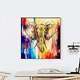 baodanla (Sin Marco) Color de inyección de Tinta Pintura al óleo sin Marco 714 60 * 60 cm sin Marco