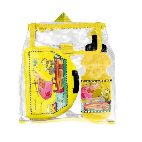 POS 21601 - Brotdose und Trinkflasche Janosch im Rucksack