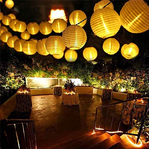 String Lights Solar, 30LED Outdoor Lanterns, Christmas Tree Holiday Decorations, Landscape Garden (Size : 4PCS) (Color : 8PCS)