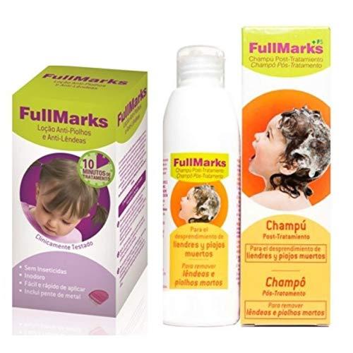 Fullmarks Pack Loción Anti-Piojos y Anti-Lémesas con Descu