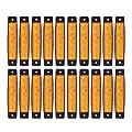 """(Pack of 20) LEDVillage 20 Pcs 3.8"""" 6 LED Amber Side Marker Lights, Amber Trailer Marker Lights, Rear Side Marker Lamp Amber, Led Marker Lights for Trucks, Cab Marker, RV Marker light Yellow"""