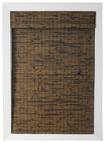 Calyx Interiors Bamboo Roman Window Shade, 34 by 54-Inch, Java Vintage