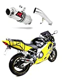 CBR 600 F4 Escape Moto Deportivo GP I Silenciador Dominator Exhaust Racing Slip-on 1999 2000
