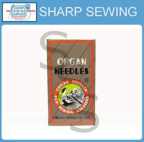 Find Bargain Super Sewing Supplies for 10 Organ Needles 92X1, DNX1#24 fits NEWLONG Bag Closing, Clos...