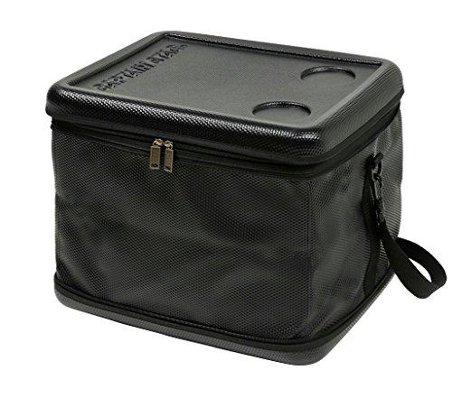 キャプテンスタッグ(CAPTAIN STAG) 保冷バッグ 【容量43L/折り畳み収納可】 スーパーコールド クーラーバッグ ブラック UE-578