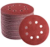Sanding Discs 72 PCS Hook and Loop 5 in...