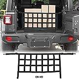 Car trunk net, mesh cargo net, suitable for 2018 2019 2020 2021 J-eep Wrangler JL JLU 2 door and 4 door