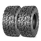 Set of 2 Maxauto ATV UTV All Terrain Tire 29x11R14 29x11x14 Rear 29x11-14 Radial Tire Mud Sand Trail Tire 6PR Tubeless Speed Rating F