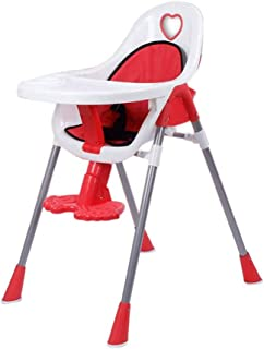ZOUJUN High Chair For Babies and Toddlers, Folding High Chair Portable Home Multi-Function Baby Dining Chair Suitable for ...