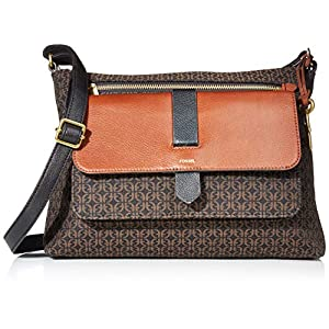 Fashion Shopping Fossil Women's Kinley Large Crossbody Purse Handbag