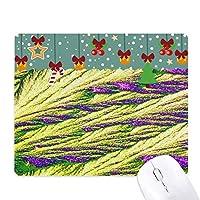 クラスタの羽色の壁紙の葦 ゲーム用スライドゴムのマウスパッドクリスマス