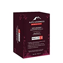 Alps Goodness Mulberry Brightening Facial Kit – Pack of 3 (34 g x 3) – Controls Sebum Production & Provides A Natural Glow – Cruelty Free