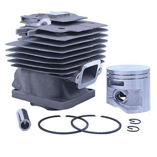 Mtanlo 50mm Big Bore Cylinder Piston Kit for Stihl MS441 MS441C MS 441 Chainsaw Nikasil Plated # 1138 020 1201 Replacement Parts