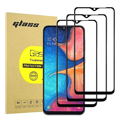 Hianjoo Kompatibel für Samsung Galaxy A20E Panzerglas Schutzfolie [3-Stück], Schutzfolie Displayschutz Kompatibel für Samsung Galaxy A20E, Anti-Kratzer, Bläschenfrei, 9H Härte, HD-Klar