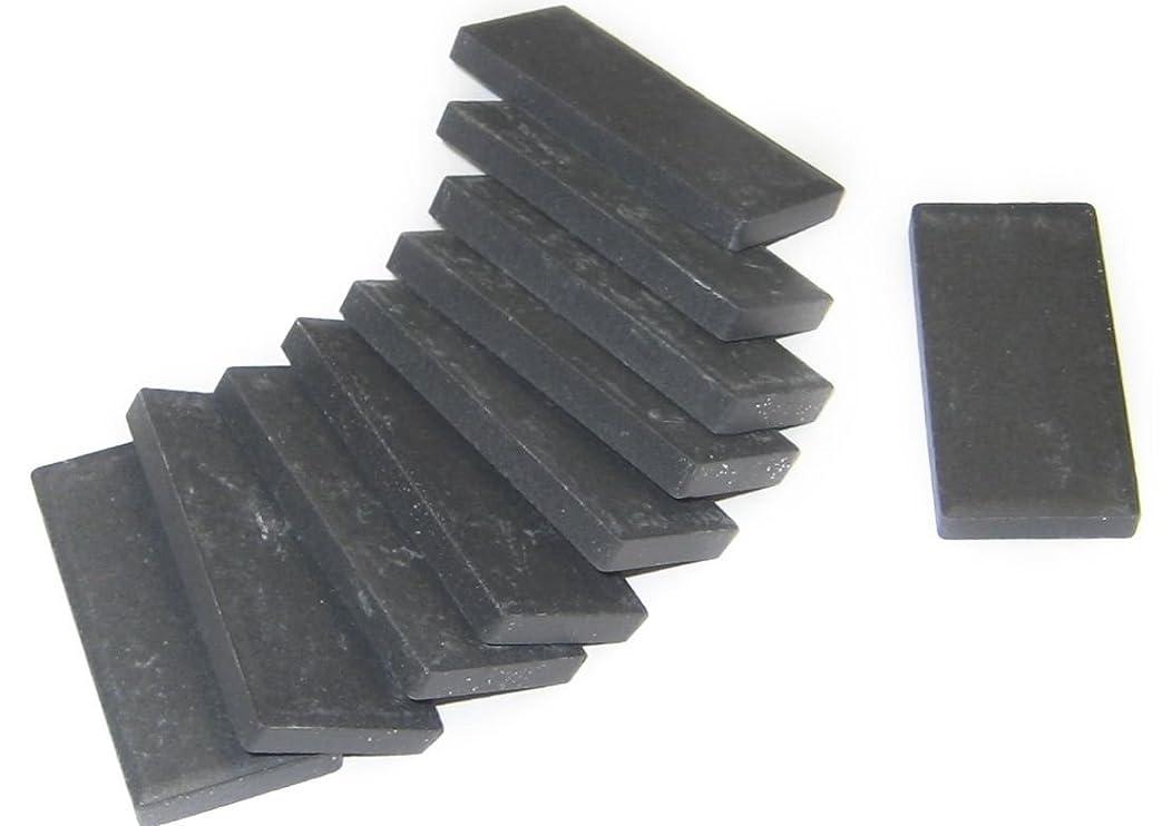Streak Plates - Black, 10 pk