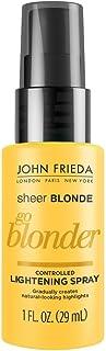 John Frieda Sheer Blonde Go Blonder Controlled Lightening Spray, 1.0 Ounce