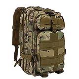 Military Backpack, Tactical Rucksack 25L Hiking Camping Trekking