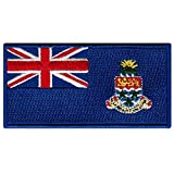 Cayman Islands Flag Embroidered Patch Iron-On...