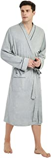 Best mens lightweight cotton bathrobes Reviews